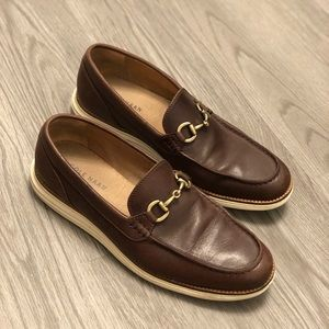 Men's Cole Haan Brown Leather Shoes Size 9.5